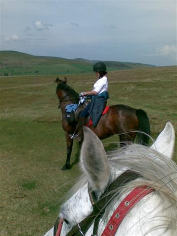 Catherine & Hope on The Begwyns